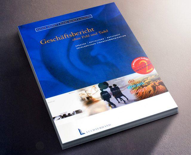 Buch über Geschäftsberichte