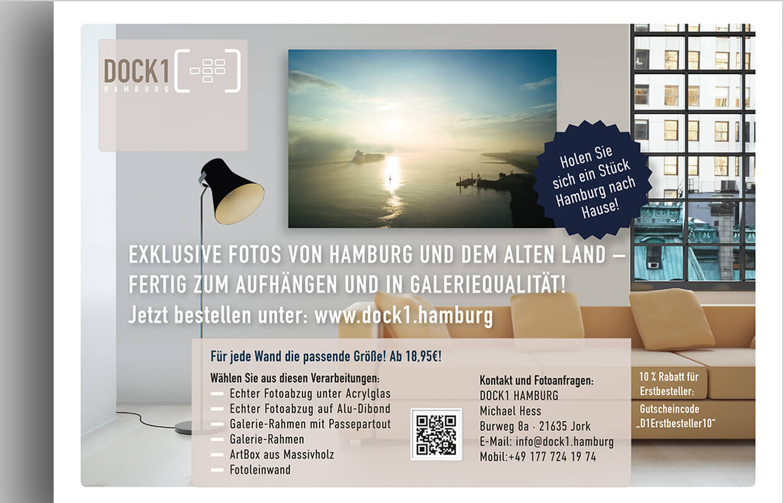 Dock1-Verkaufsflyer