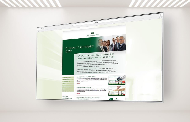 GGW websitedesign