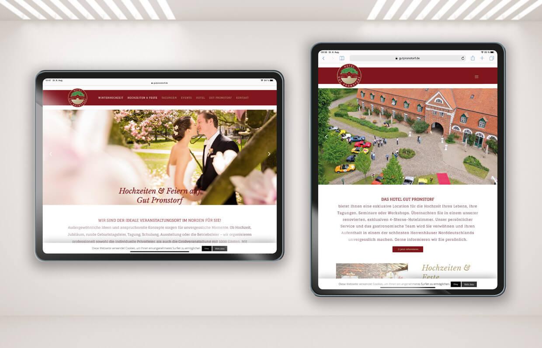 Gut Pronstorf Website