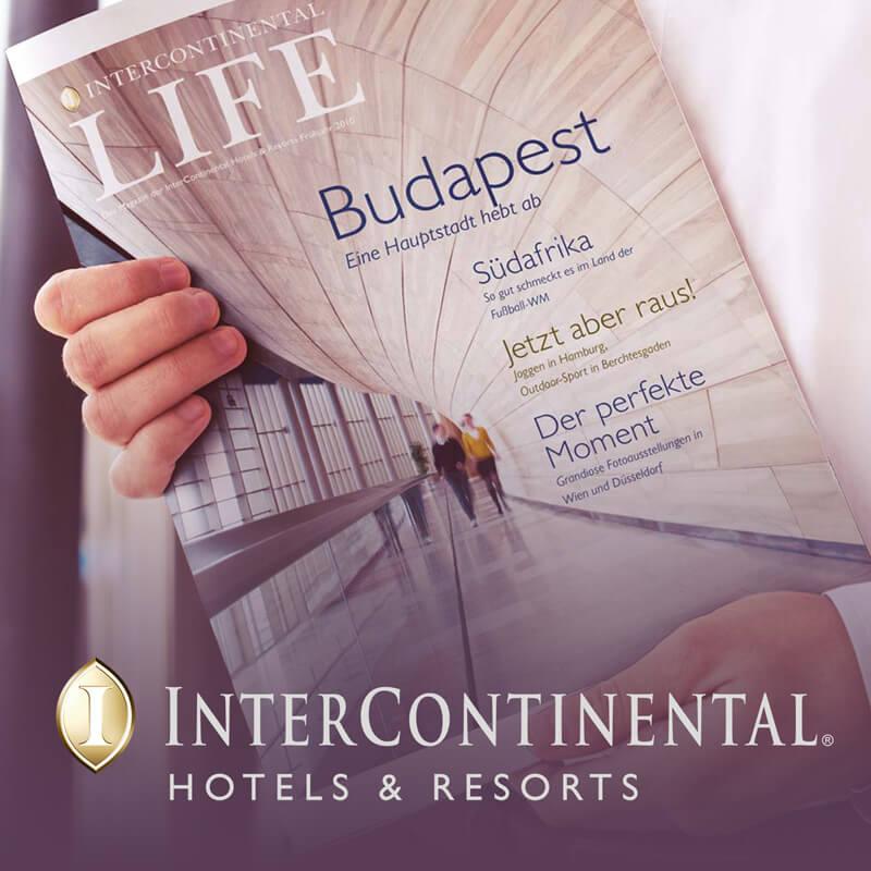 Intercontinental Hotels Magazin