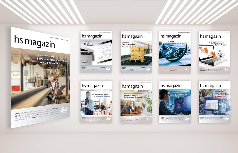 Kundenmagazine Hamburger Software