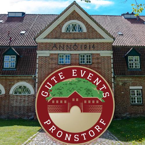 Gute Events Pronstorf bietet eine exklusive Hochzeits-Location, Tagungen, Seminare oder Workshops. Das Gut verfügt über 21 exklusive Hotelzimmer im Gutshofstil.